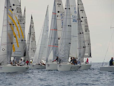 World Championship Mondello - Euz II Villa Schinosa wins the first regatta