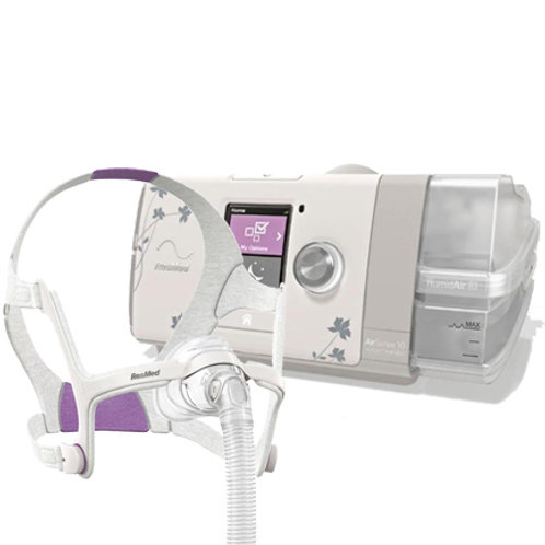 ResMed AirSense 10 Autoset CPAP HumidAir For Her with N20 Mask