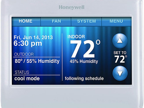 Honeywell TH9320WF5003 Wi-Fi Touch Screen Programmable Thermostat