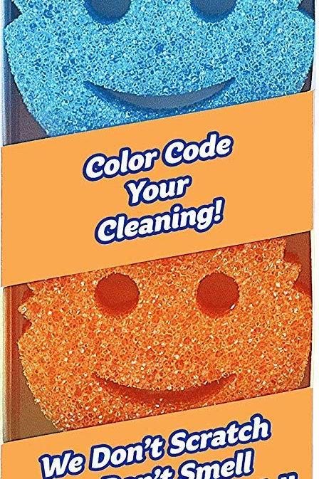 Scrub Daddy® Colors Sponge Set