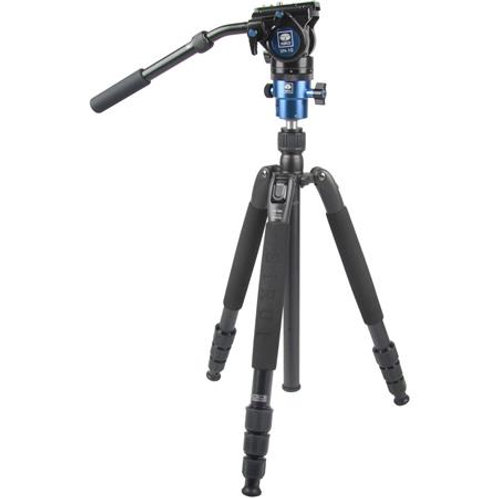 Sirui VHD-2004 Photo/Video Tripod with VH-10 Fluid Video Head