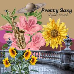 Pretty Saxy Album Cover First Version
