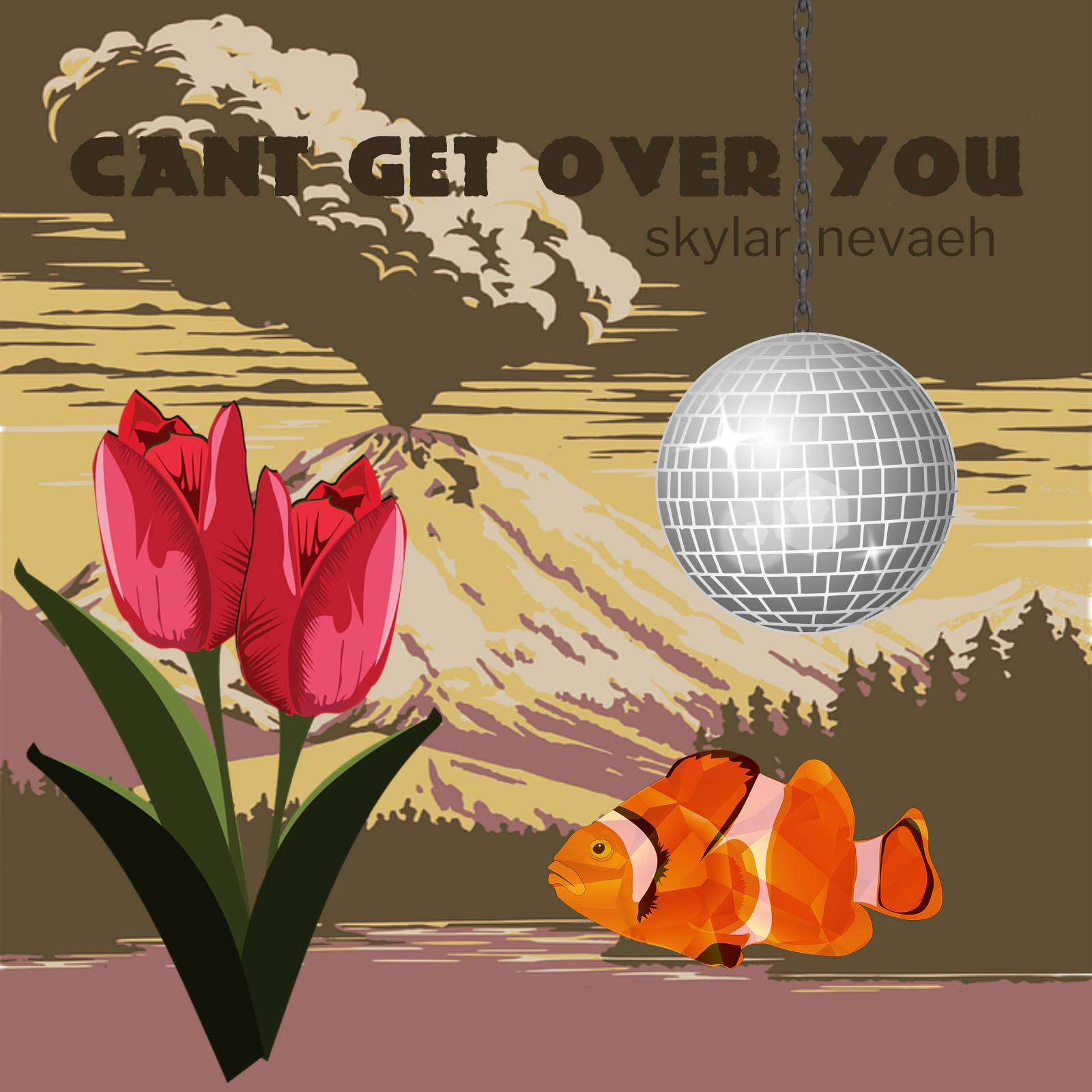 Can't Get Over You Single Cover First Version