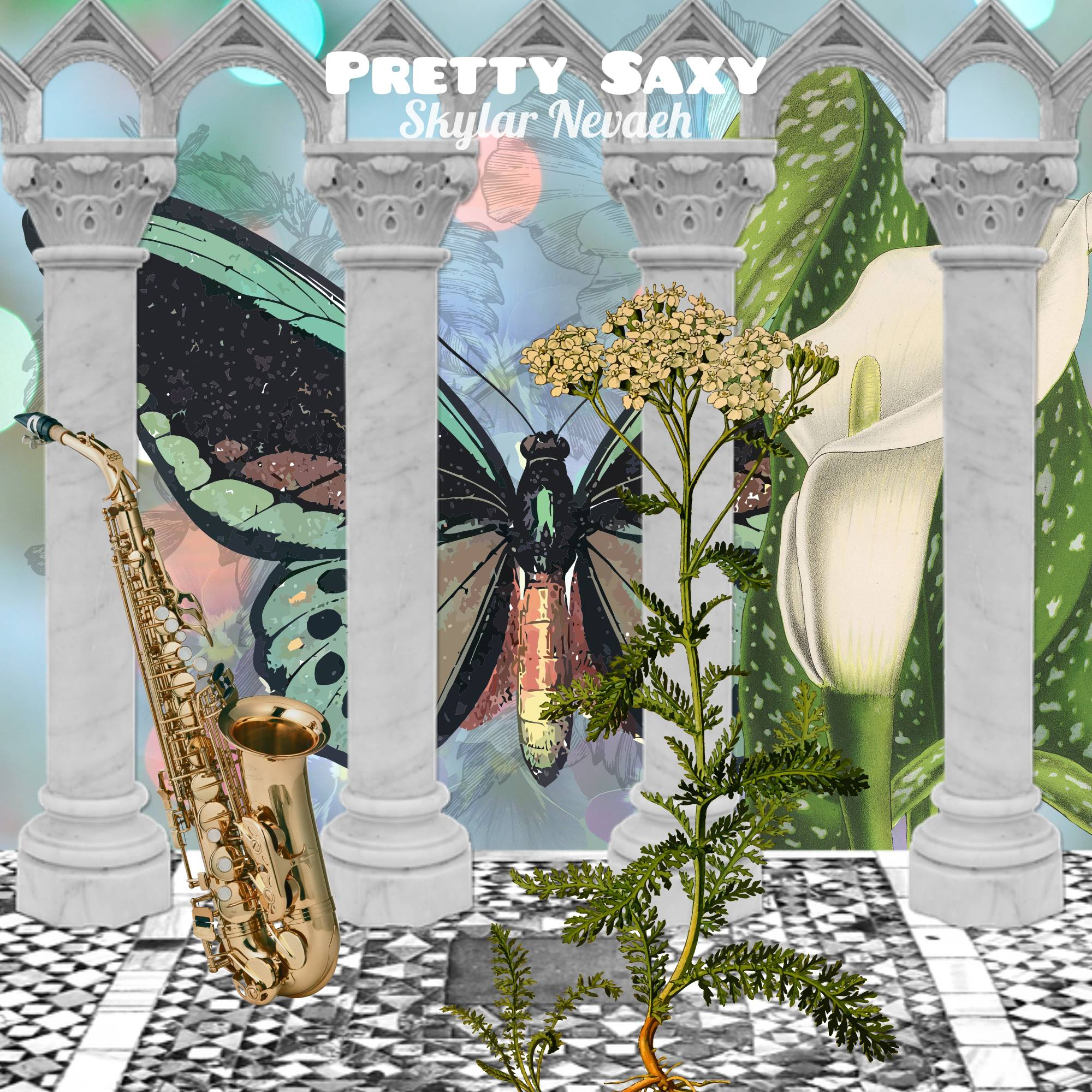 Pretty Saxy Official Album Cover