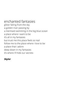 enchanted fantasies