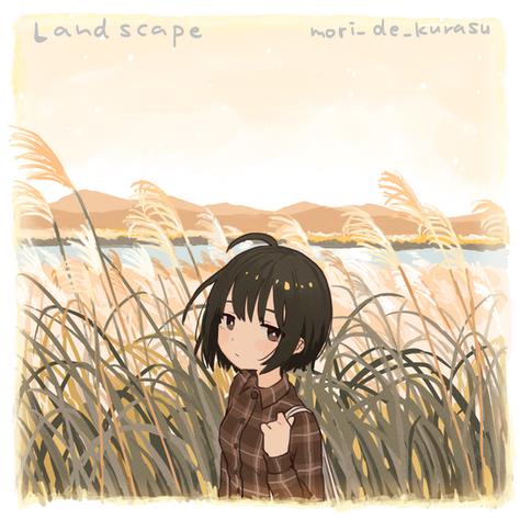 【Release】mori_de_kurasu - Landscape〈Digital〉