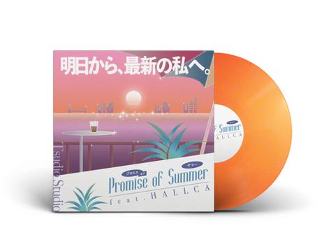 【Release】Tsudio Studio (feat. HALLCA) - Promise of Summer〈Vinyl〉