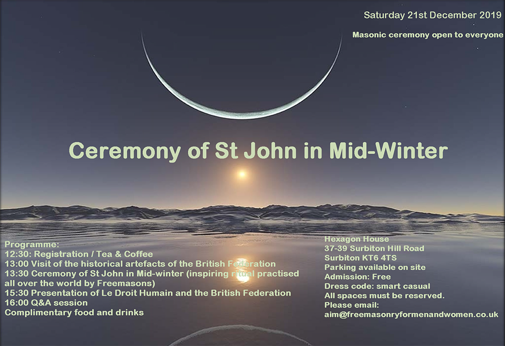 Ceremony of St. John in Mid-Winter