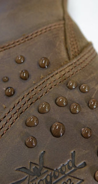 Absorptive Leather