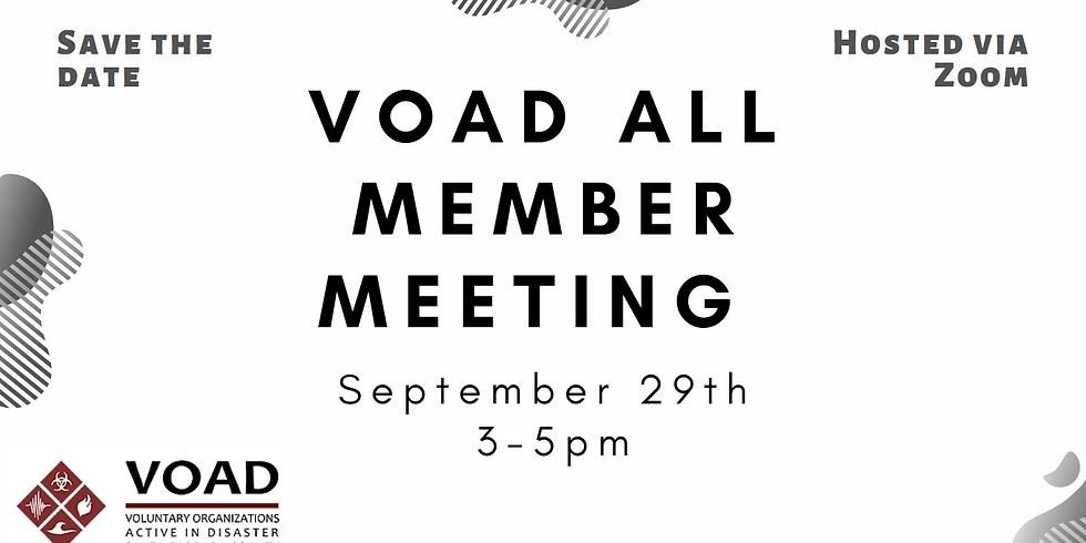 SBC VOAD Quarterly All Member Meeting
