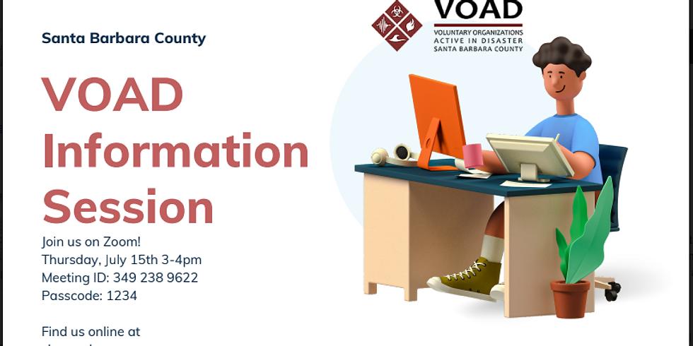 SBC VOAD Information Session