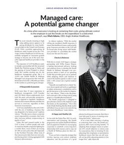 CEO Report - A Gulf News Magazine