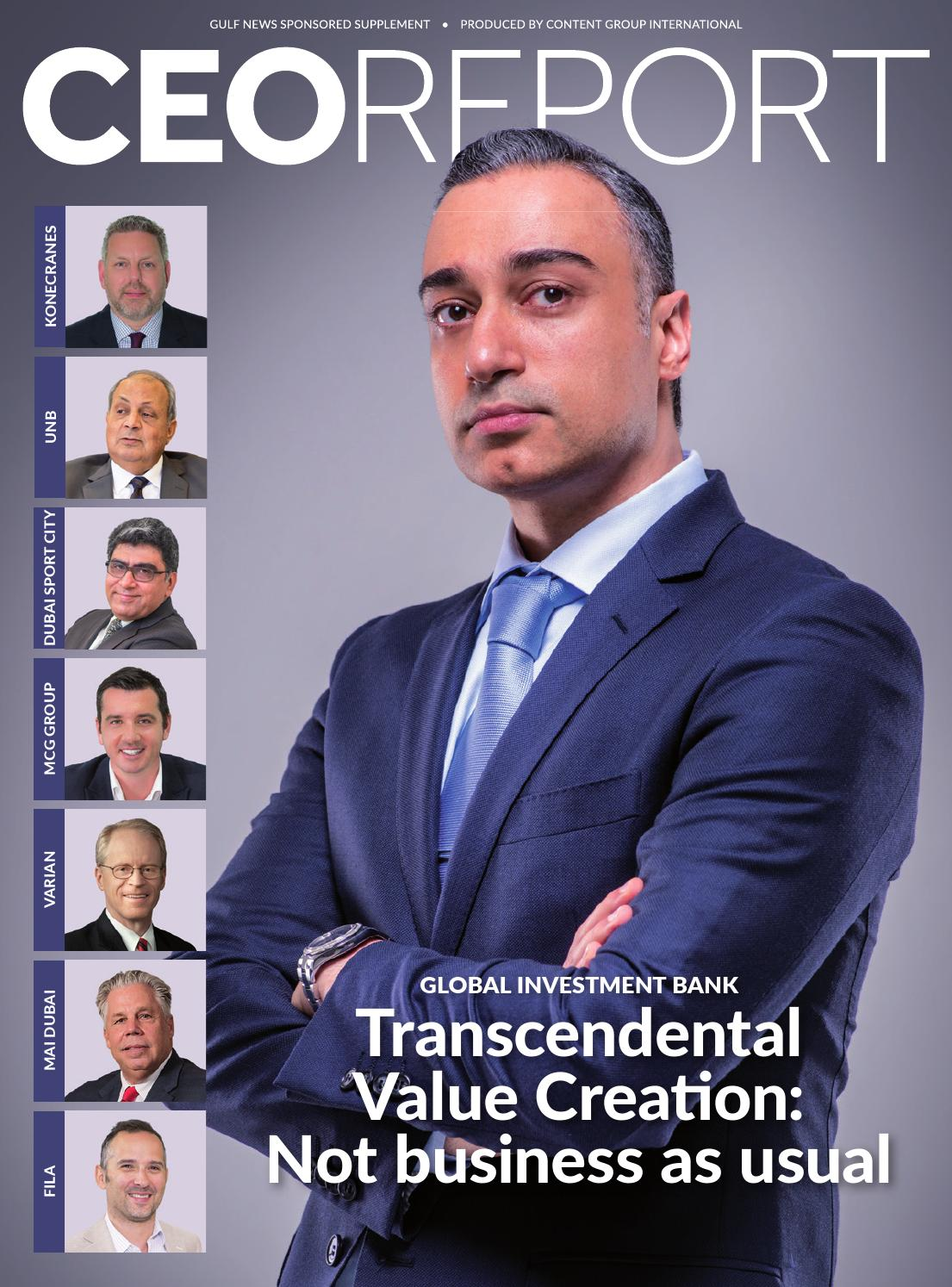 CEO Report