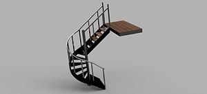 Half Spiral stair case .png