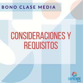 Nuevo Bono Clase Media - Ley N° 21.323 de 2021