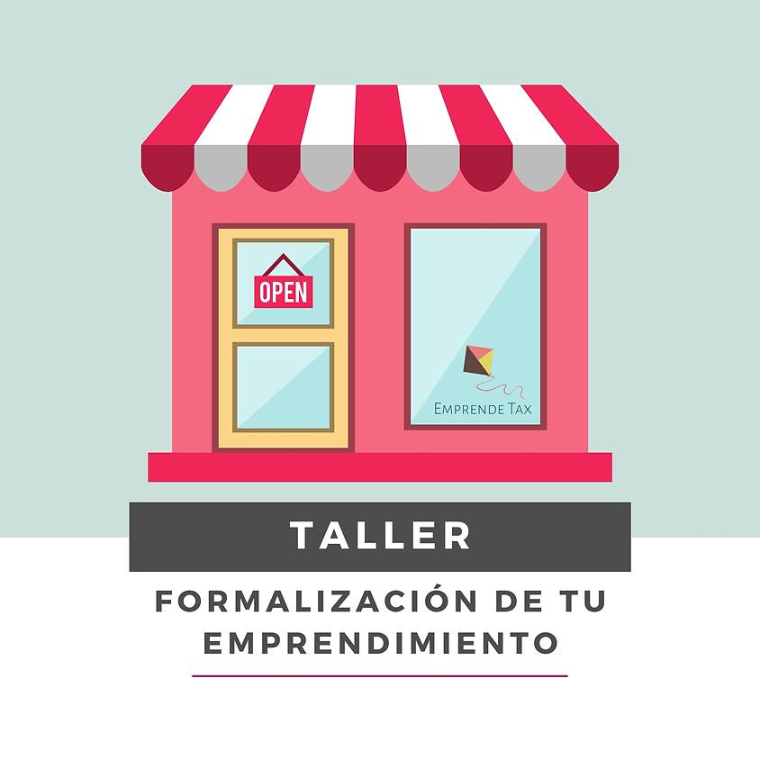 Taller: Formalización de tu Emprendimiento