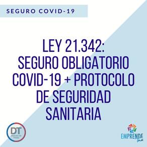 Seguro Covid-19 + Protocolo de Seguridad Sanitaria