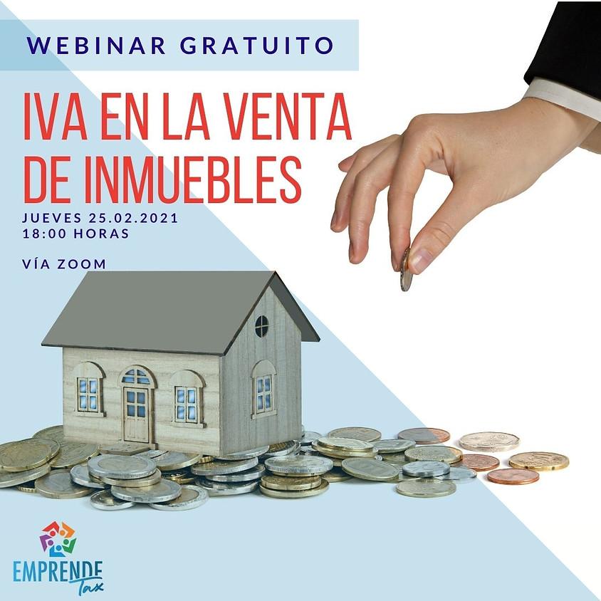 Webinar: IVA en la venta de inmuebles