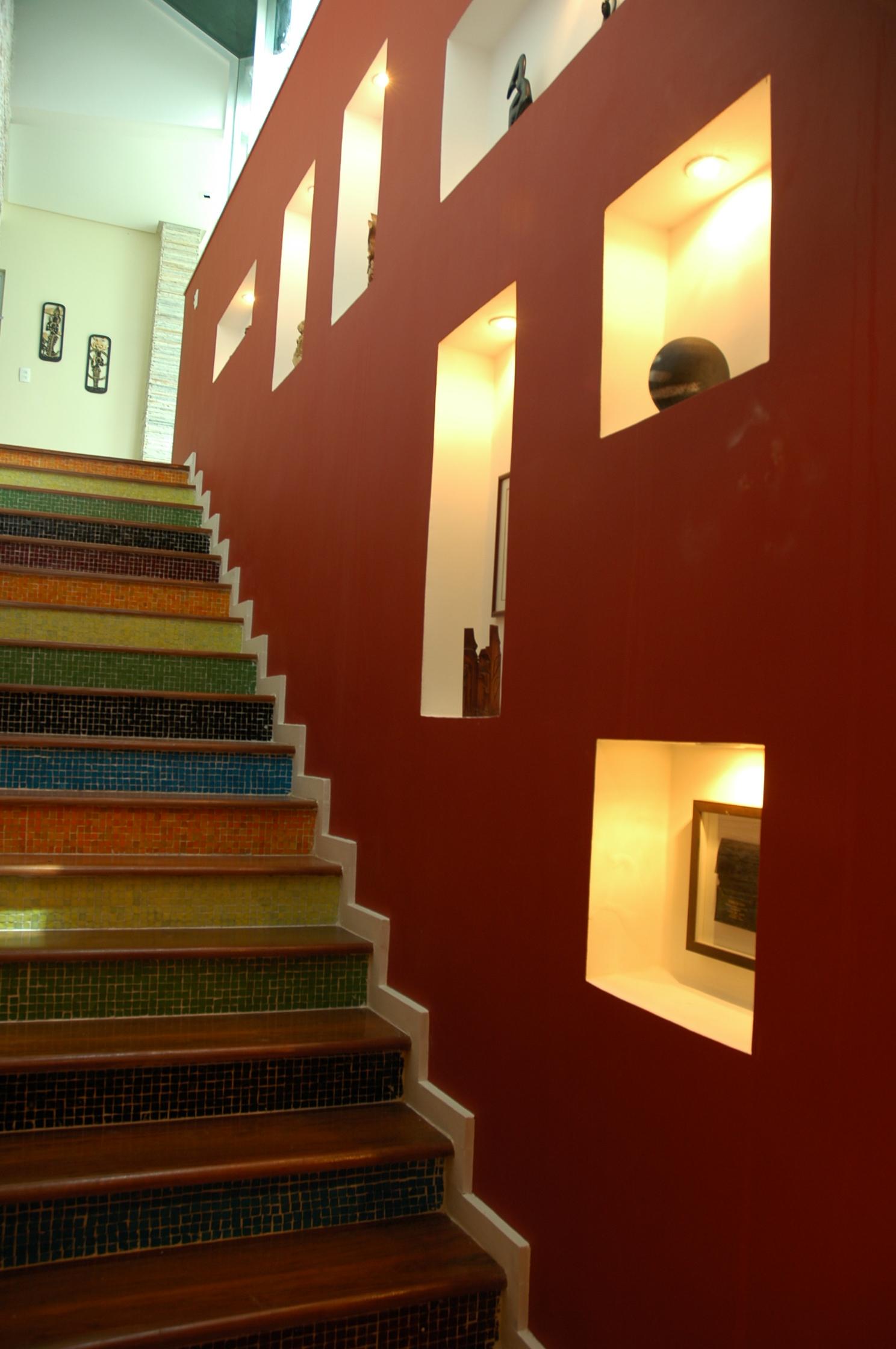 RBH escada inferior noite