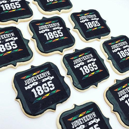 Juneteenth Cookies