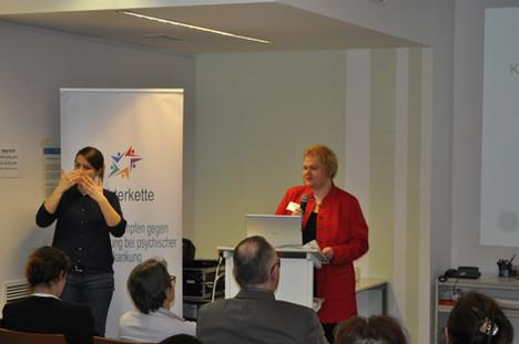 Ankündigung des Vortrages zum Thema Stigmatisierung mit Prof. Dr. Rüsch - Uni Ulm, Public Health