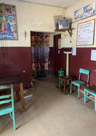 Old Clinic - Welcome Area
