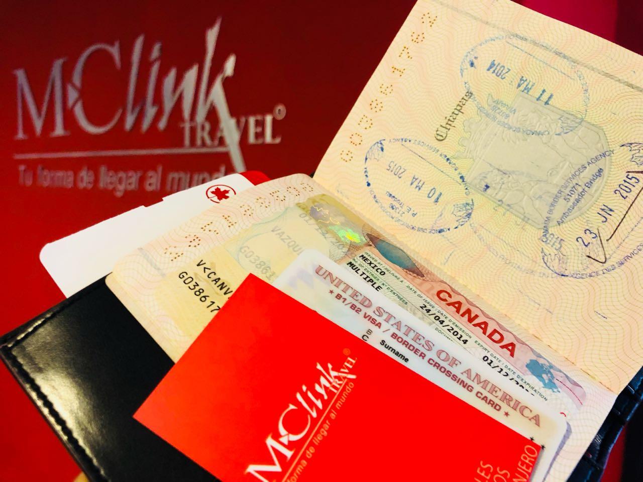 Visas MC LINK Travel
