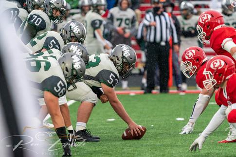Westhamtpon Beach vs East Islip High School Football Playoff