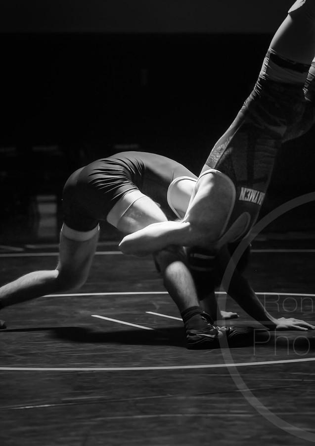 B & W Sports HB Wrestling