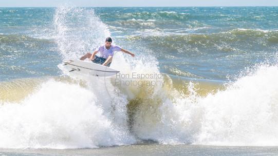 Flying thru the surf. Southampton Native