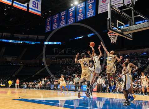 Baldwin vs Uniondale Boys Basketball Class AA Finals