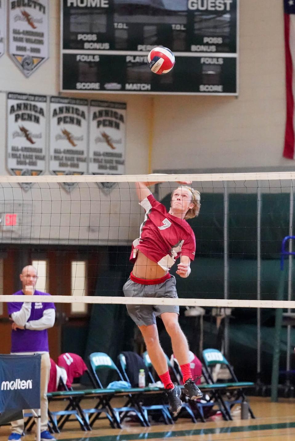 WHB VS East Hampton High School, Boys Volleyball