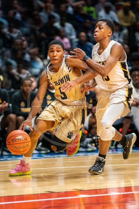 Baldwin vBaldwin vs Uniondale Boys Basketball Class AA Finals