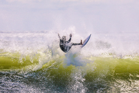 Surfing Jumping