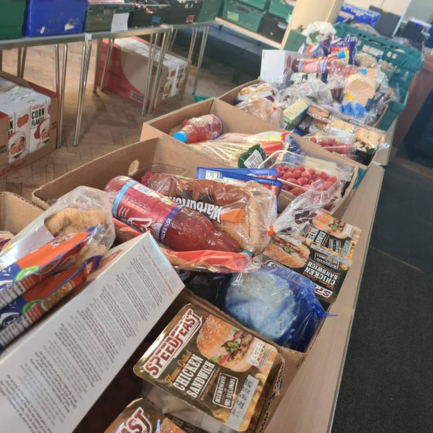 We can provide emergency food parcels