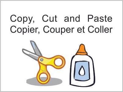 Copier/Coller, pas si simple que cela.