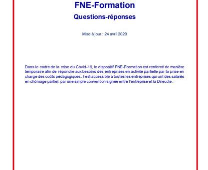Dispositif FNE-Formation renforcé