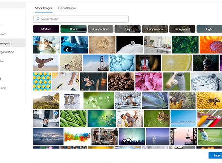 De nouvelles images dans SharePoint