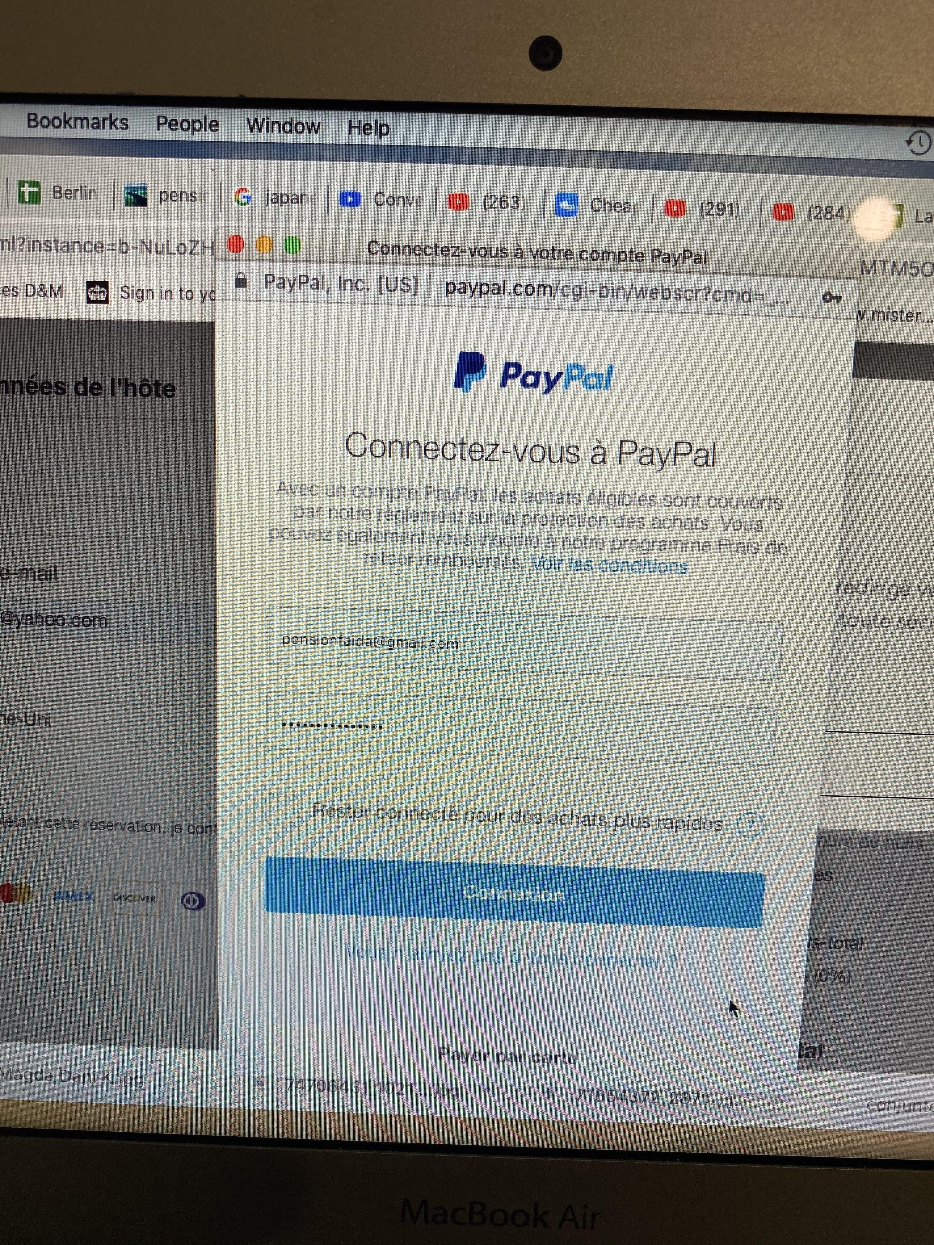 """Etape 4 Cliquer """"payer par Carte"""""""