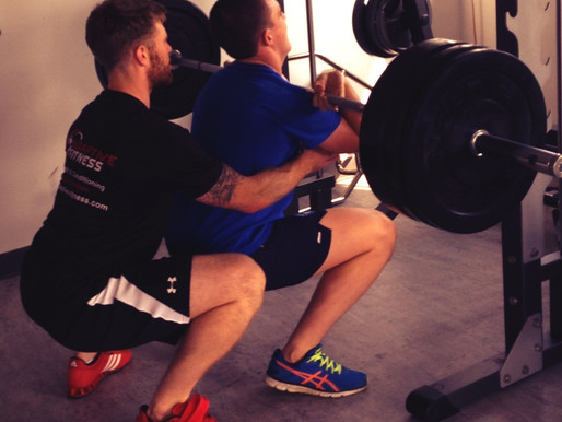 Ankle mobility in the squat