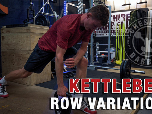 4 Kettlebell Row Variations for Back Strength