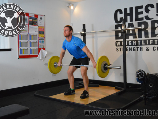 FREE: Today's Weightlifting Programme 1/10/16