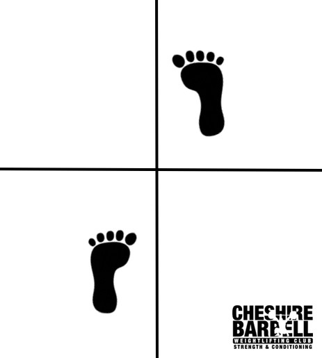 jerk foot position