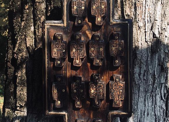 Cruce lemn vechi