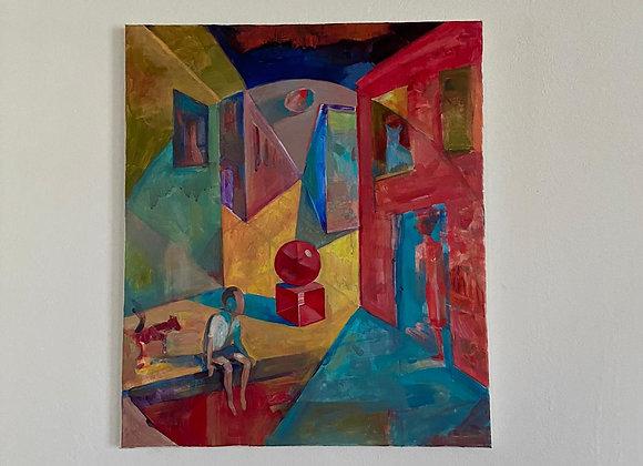 Subiectiv - pictura Ruslan Cirlan