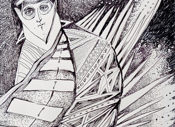 Un mod de a fi - ilustratie - Smaranda Isar