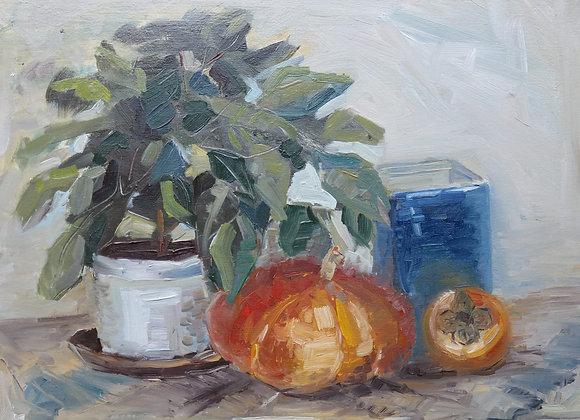 Icoana - pictura Madalina Costache
