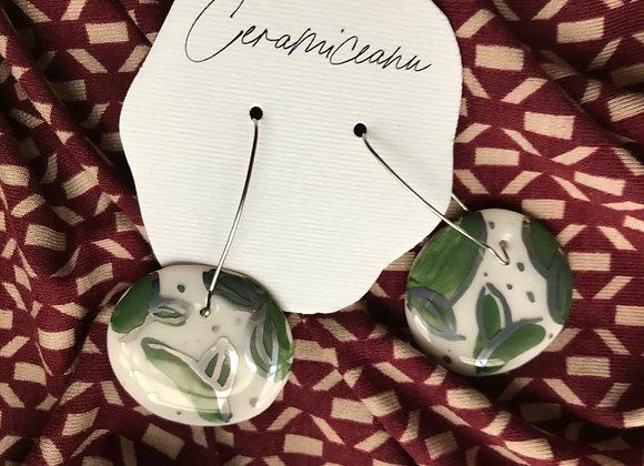 """Cercei """"Taine"""" - unicat din ceramica"""