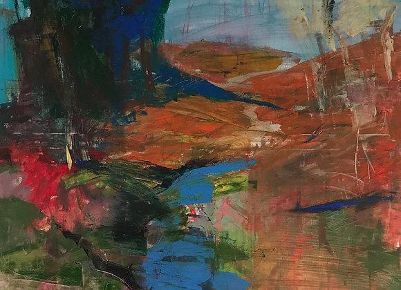 Peisaj - pictura Ruslan Cirlan