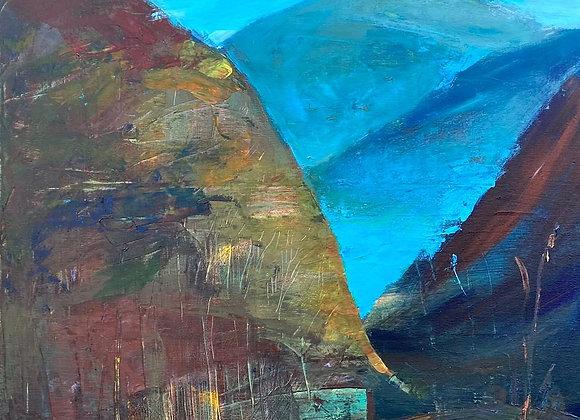 Seara - pictura Ruslan Cirlan